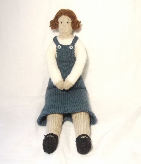 Milly- Tilda Doll Knitting Pattern at Makerist - Image 1