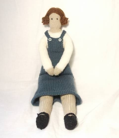Milly- Tilda Doll Knitting Pattern