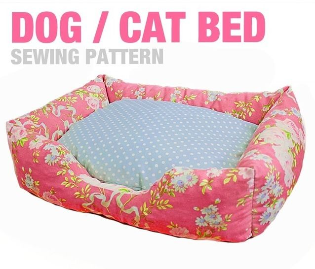 Sewing Pattern - Dog / Cat / Pet Bed - 3 Sizes - English Version bei Makerist - Bild 1