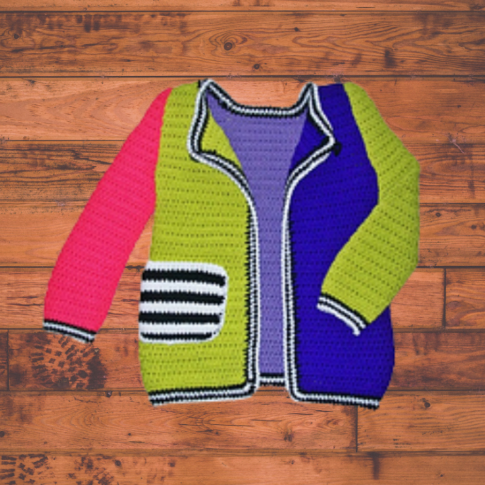 Crochet  Colorful Sweater