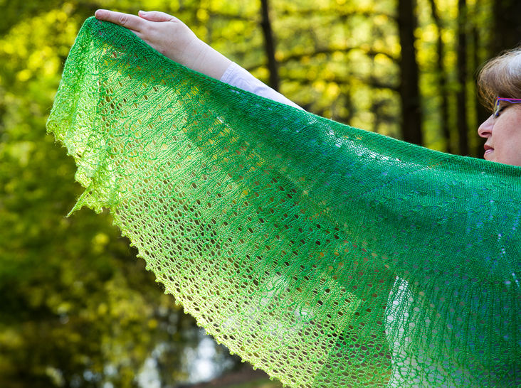 Sparkling Rain Shawl - Knitting at Makerist - Image 1