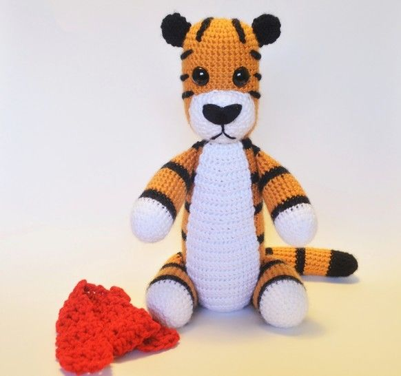 Crochet Tiger - Detailed Pattern at Makerist - Image 1