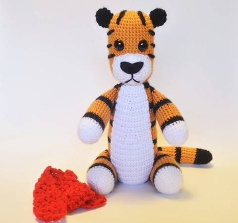Crochet Tiger - Detailed Pattern