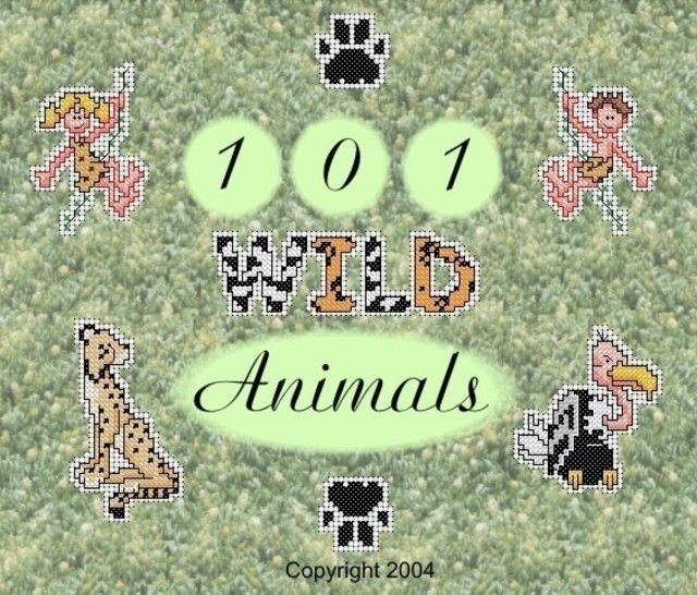 101 Wild Animal Cross Stitch Motifs at Makerist - Image 1