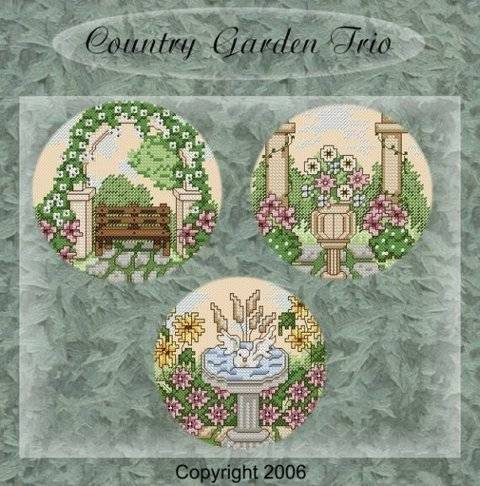 Country Gardens in cross stitch at Makerist