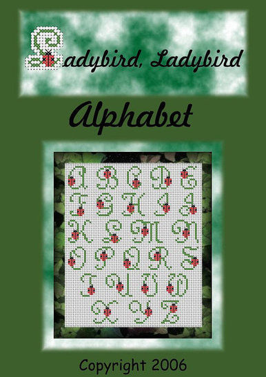 Ladybird Alphabet in cross stitch at Makerist - Image 1