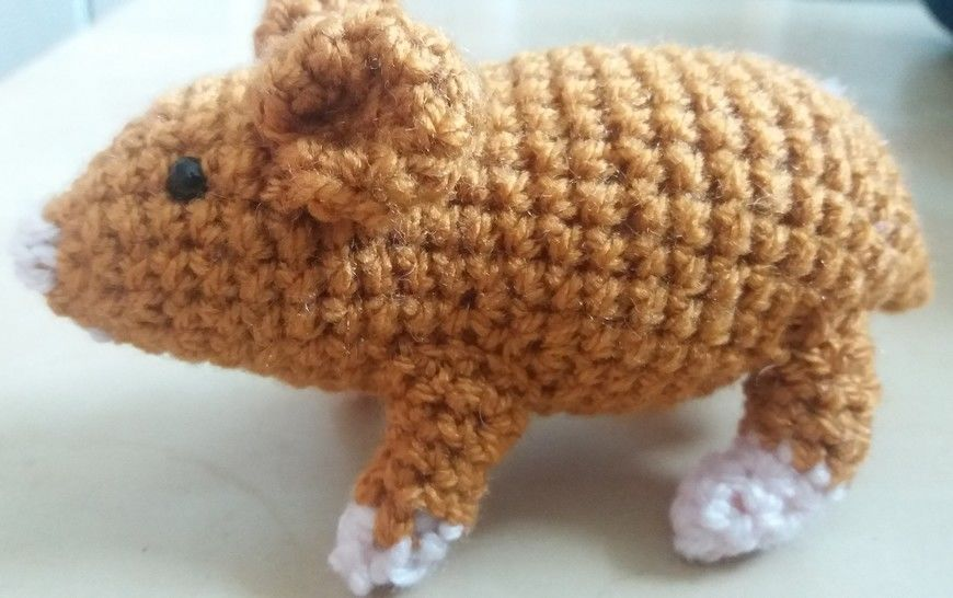Hamster Amigurumi Crochet Pattern at Makerist - Image 1