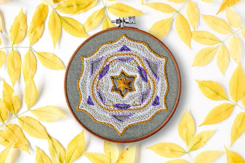 Sternen Mandala bei Makerist - Bild 1