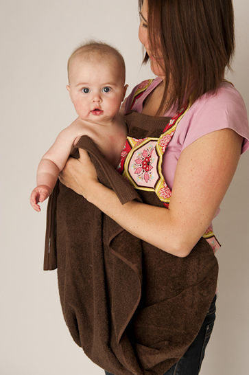 Baby Bath Apron Towel and Mitt - PDF Sewing Pattern at Makerist - Image 1