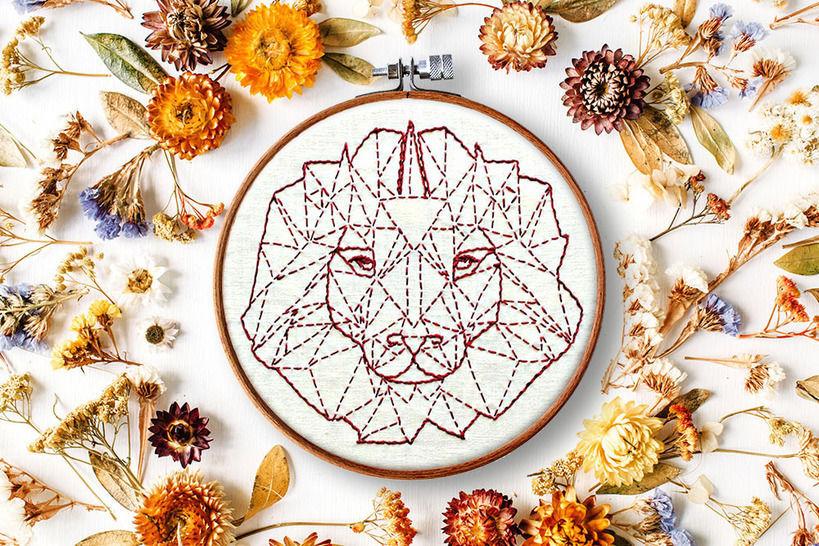 Löwe Anfänger Stickanleitung bei Makerist - Bild 1