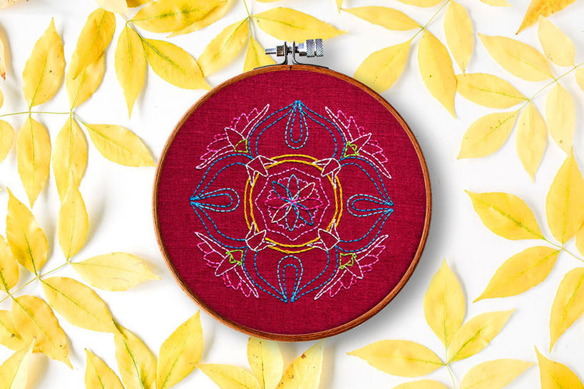 Lotus Mandala bei Makerist - Bild 1