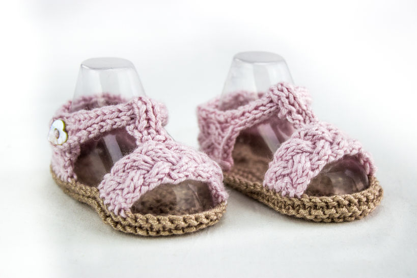 Baby Braided Strap Sandals at Makerist - Image 1