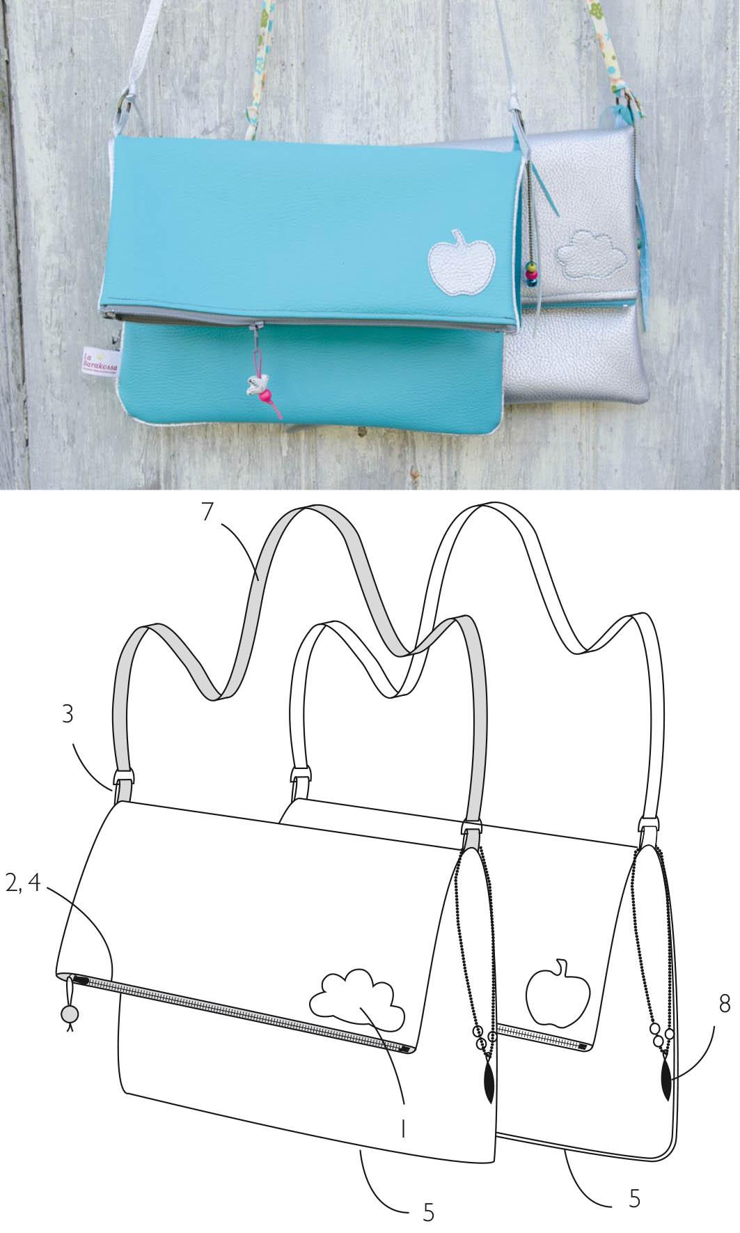 Sac Happy Bag - tuto couture