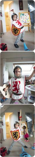 Tunique chevalier - 4 ans - tuto couture  chez Makerist - Image 1