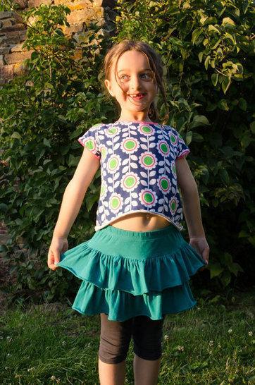 Jupette à volants pour fillette - 4-6-8 ans - tuto couture  chez Makerist - Image 1