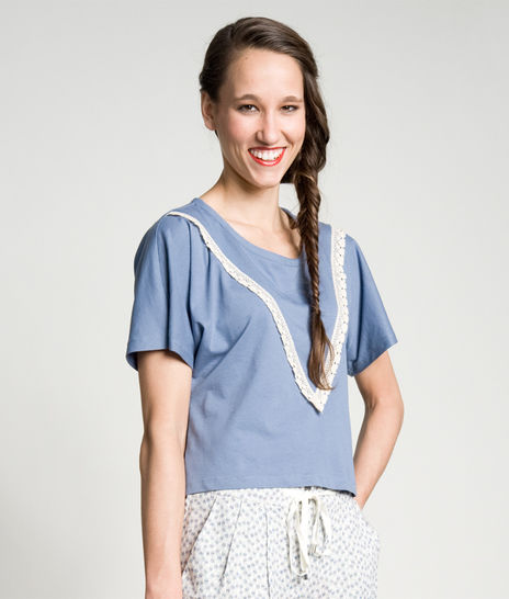 Schnittmuster und Nähanleitung Shirt Katja bei Makerist - Bild 1