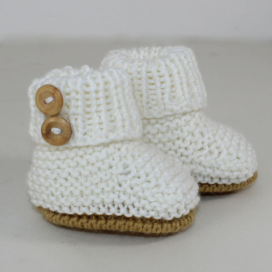 Baby Simple Unisex Booties at Makerist - Image 1