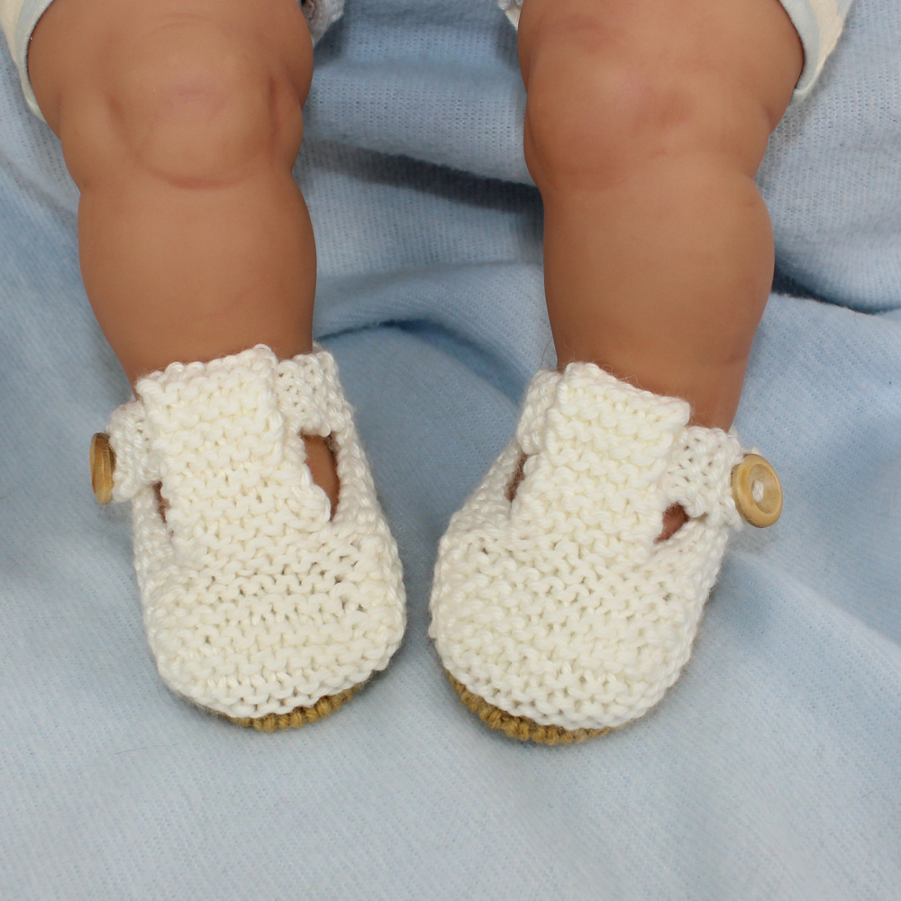 Baby Simple T Bar Sandals