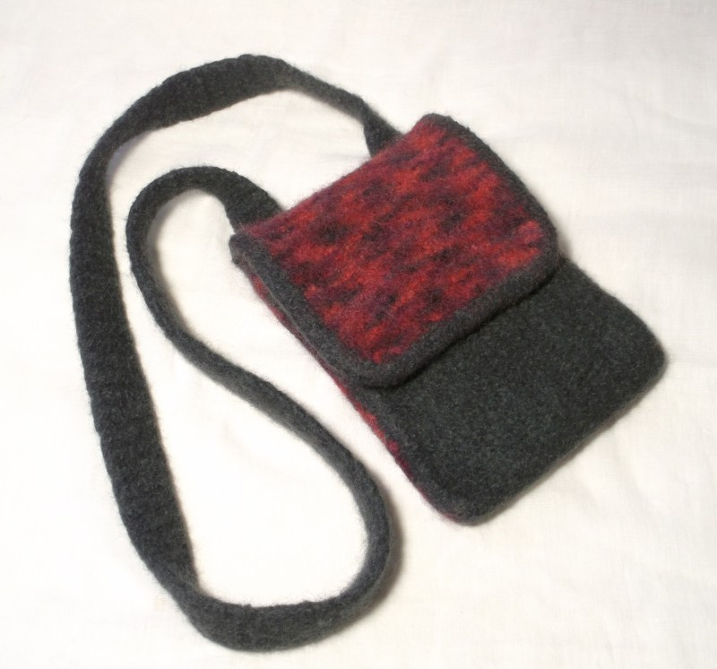 Alex kindle bag knitting pattern