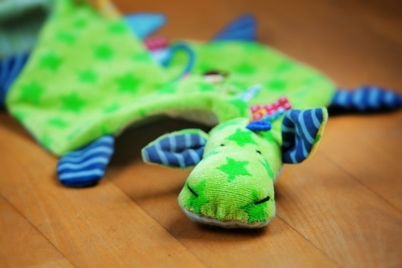 Pacifier-Dragon - tutorial with pattern  at Makerist - Image 1