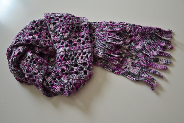 Orchid Jam Scarf