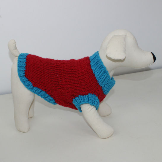 Simple Chunky Dog Coat at Makerist - Image 1