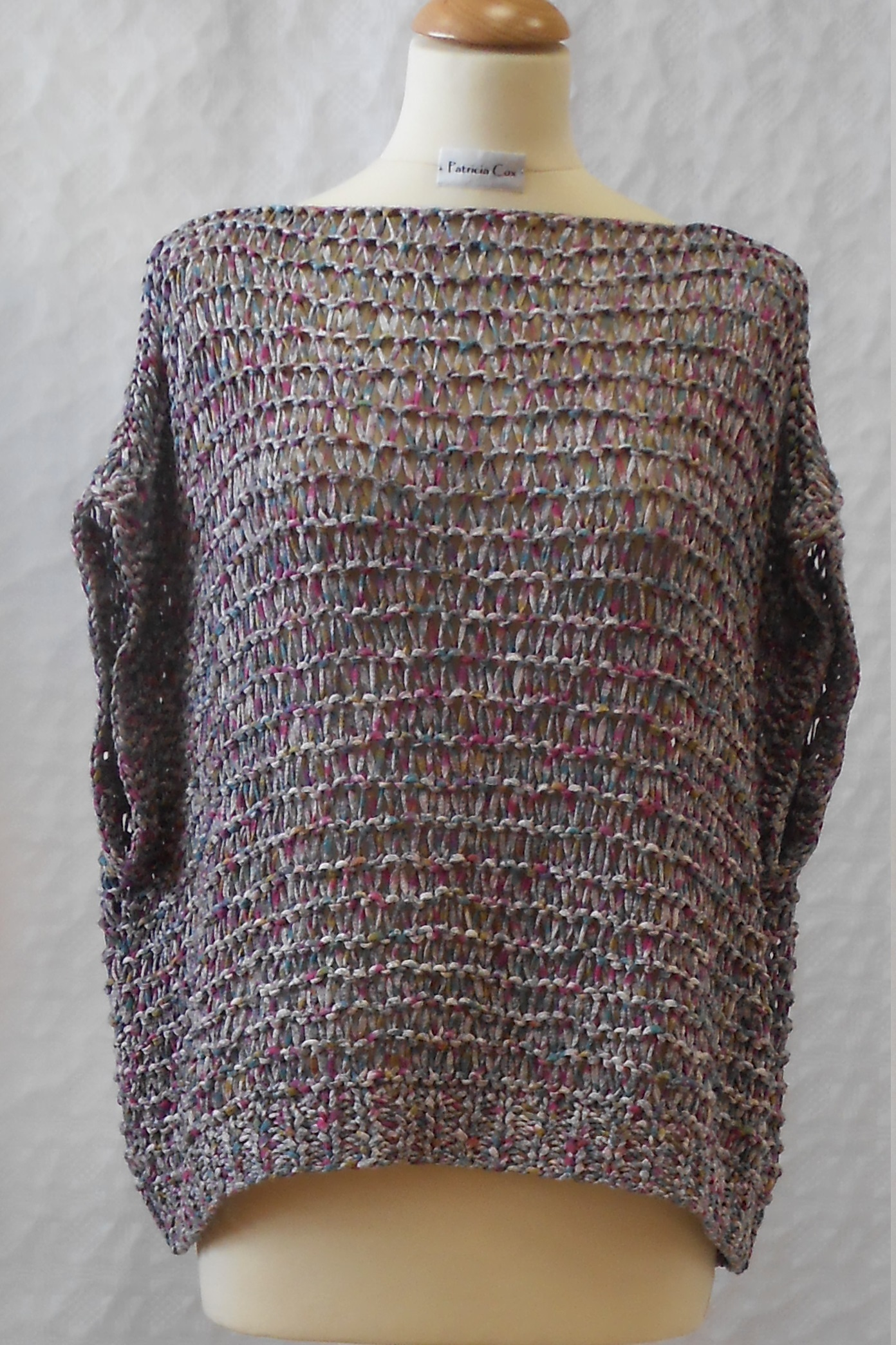 Year Round - oversized summer tee shirt and sweater knitting pattern