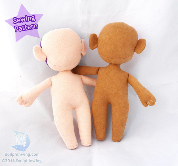 Little Doll Person Sewing Pattern at Makerist - Image 1