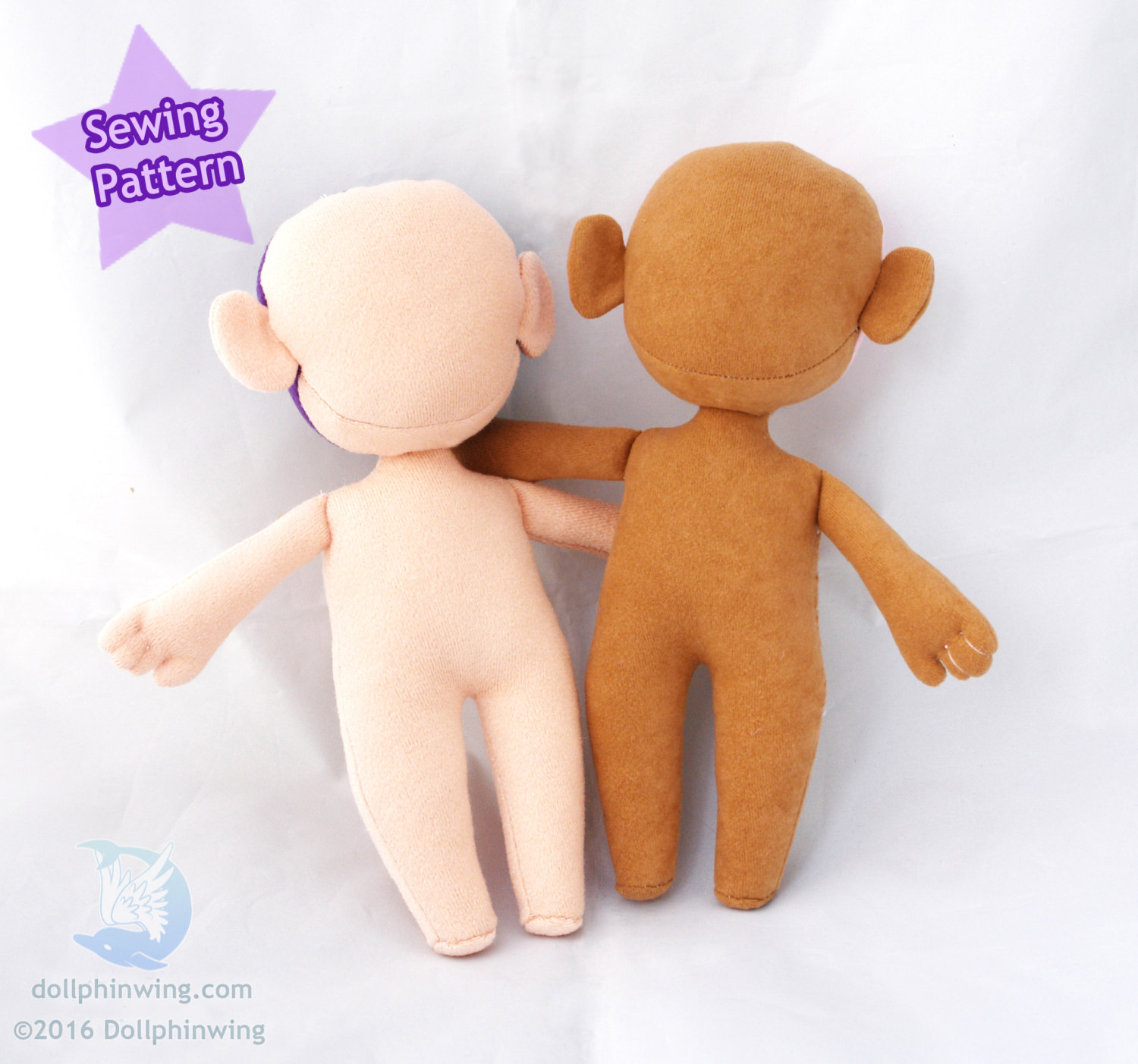 Little Doll Person Sewing Pattern