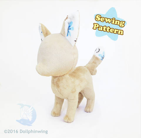 Fox Plushie Pattern at Makerist