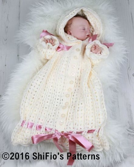 CP41 Snuggly Sleeping bag Baby Crochet Pattern #41 at Makerist - Image 1