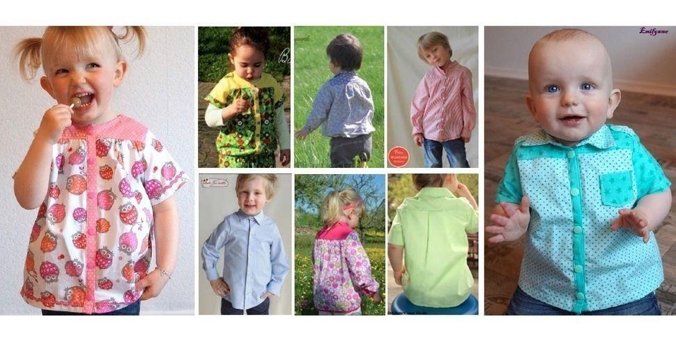 Ebook Benja - Schnittmuster für Hemd,Bluse,Tunika bei Makerist - Bild 1