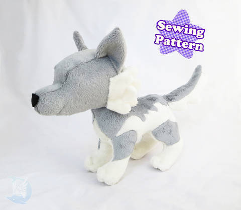 Wolf Plushie Pattern at Makerist