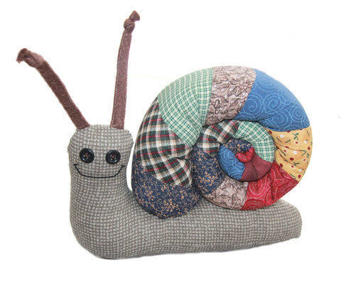 Scrap Bag Snail Sewing Pattern at Makerist