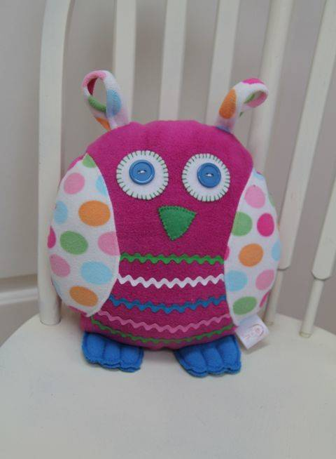 Owl Pillow Sewing Pattern at Makerist