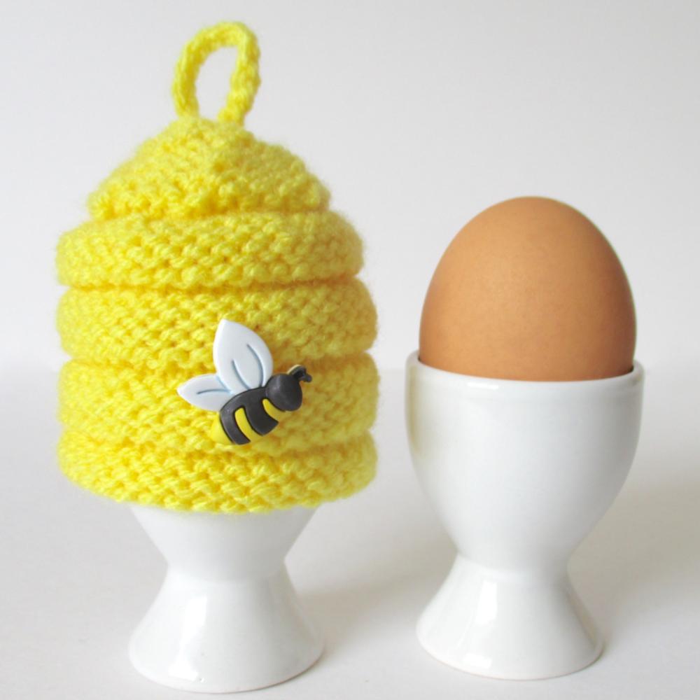 Beehive Egg Cosy