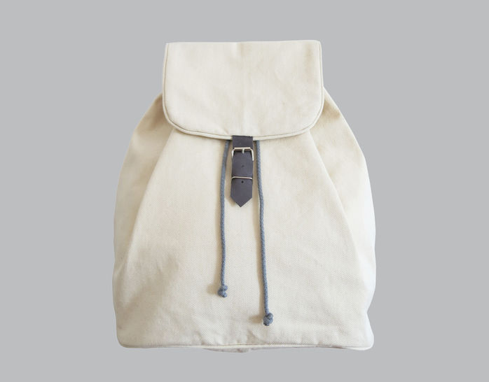 Backpack No. 1 with leather details at Makerist - Image 1
