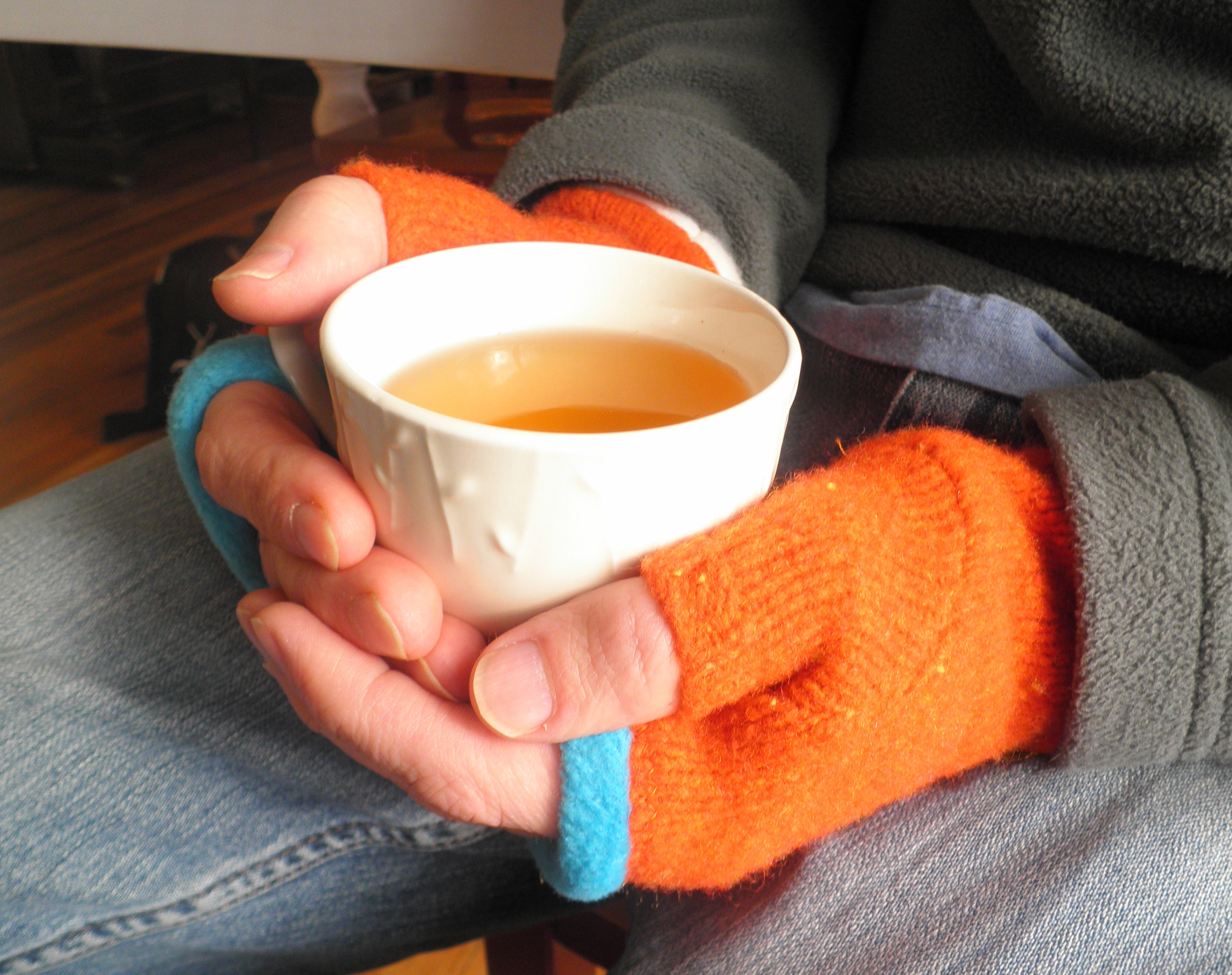 Fingerless Mitten - Upcycled - PDF Sewing Pattern