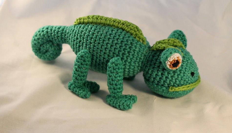 ebook Leo chamaeleon crochet bei Makerist - Bild 1