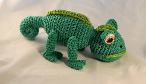 ebook Leo chamaeleon crochet bei Makerist