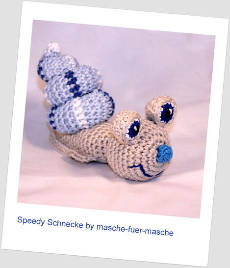 ebook Speedy snail crochet bei Makerist - Bild 1