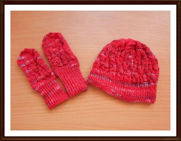 Mütze Handschuhe für Babys stricken Grundanleitung bei Makerist - Bild 1
