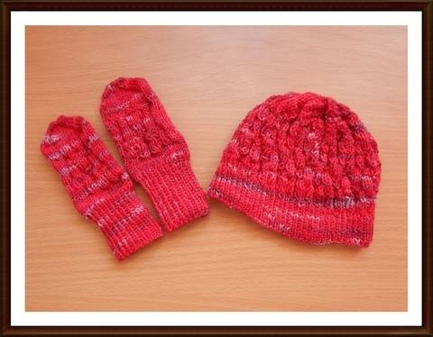Mütze Handschuhe für Babys stricken Grundanleitung bei Makerist