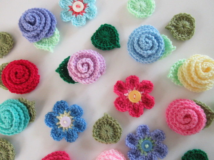 Flower Crochet Pattern at Makerist - Image 1