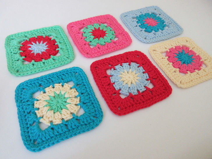 Colourful Coaster Crochet Pattern at Makerist - Image 1