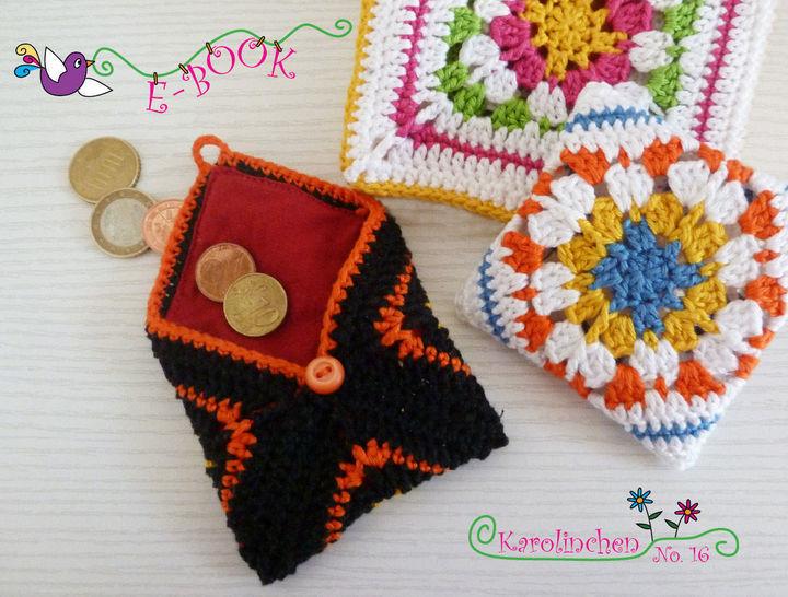 Häkelanleitung: Krimskrams Täschchen bei Makerist - Bild 1