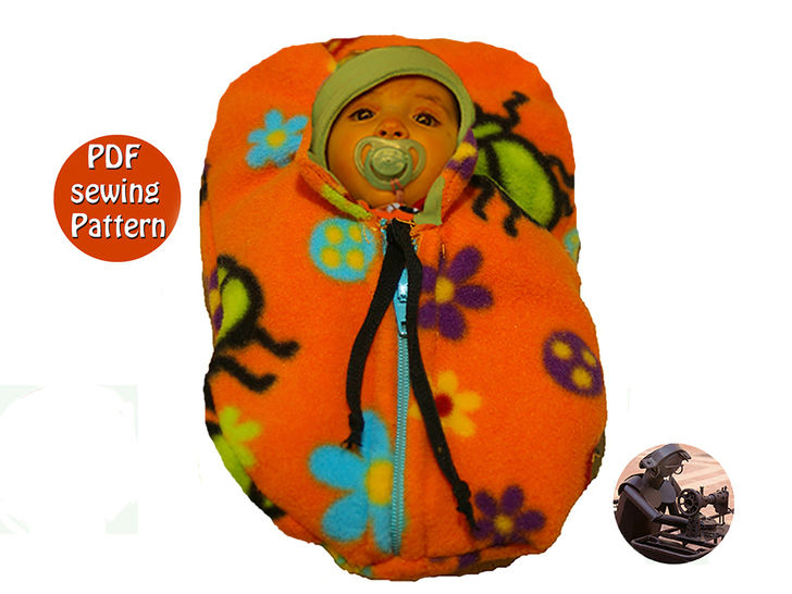 Baby's bunting - French/english PDF sewing pattern  at Makerist - Image 1