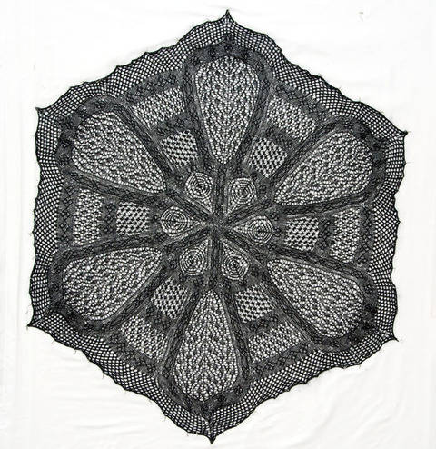 Irish Cathedral Shawl  at Makerist
