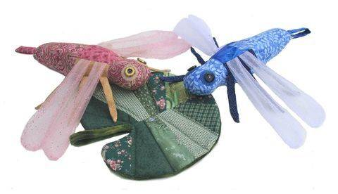 Scrap Bag Dragonfly & Lily Pad Sewing Pattern