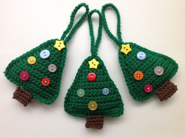 Christmas Tree Decoration - Crochet Pattern at Makerist - Image 1